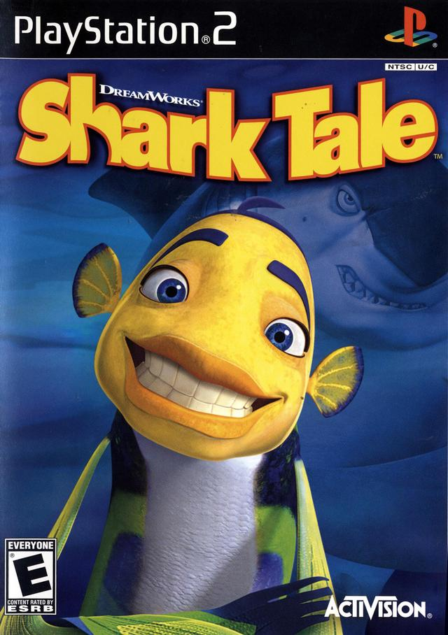 Shark Tale - Playstation 2 (Complete in Box)