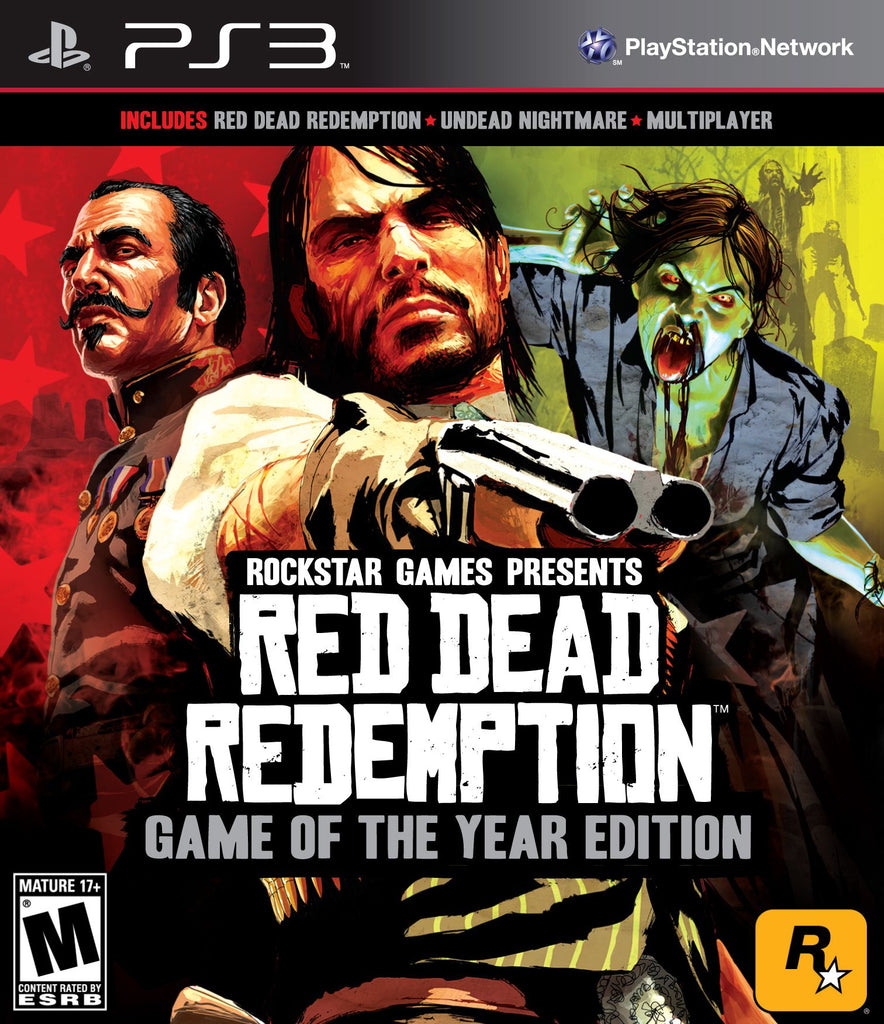 Red Dead Redemption: Game of the Year Edition - Playstation 3 (Complete in Box)