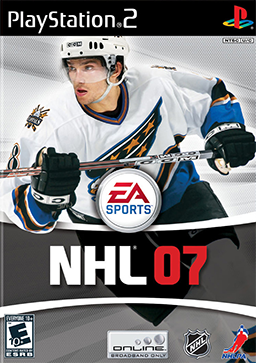 NHL 2007 - Playstation 2 (Complete in Box)