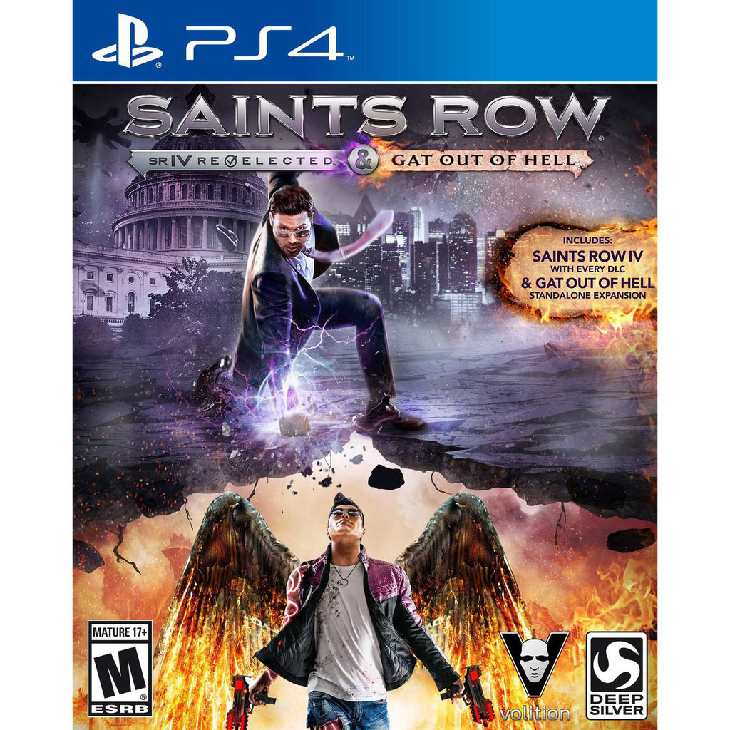 Saints Row IV: Re-Elected & Gat Out of Hell - Playstation 4 (Complete in Box)