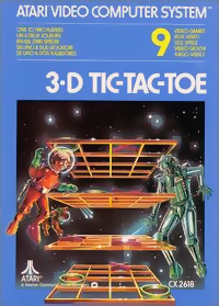 3D Tic-Tac-Toe - Atari 2600 (Game Only)