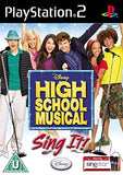High School Musical Sing It - Playstation 2 (Complete In Box)