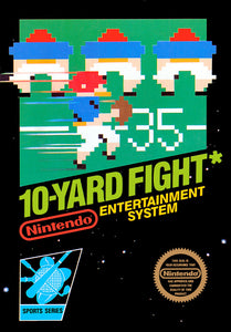 10-Yard Fight - NES (Game Only)