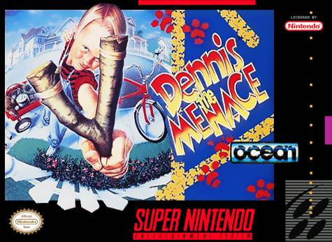 Dennis the Menace - Super Nintendo (Game Only)