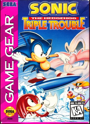 Sonic Triple Trouble - Sega Game Gear