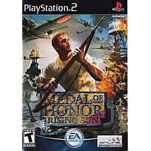 Medal of Honor Rising Sun - Playstation 2 (Complete In Box)