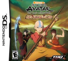 Avatar The Burning Earth - Nintendo DS (Complete In Box)