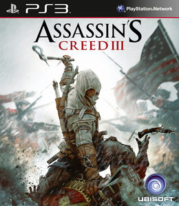Assassin's Creed III - Playstation 3 (Game Only)