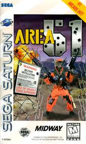 Area 51 - Sega Saturn (Complete in Box)