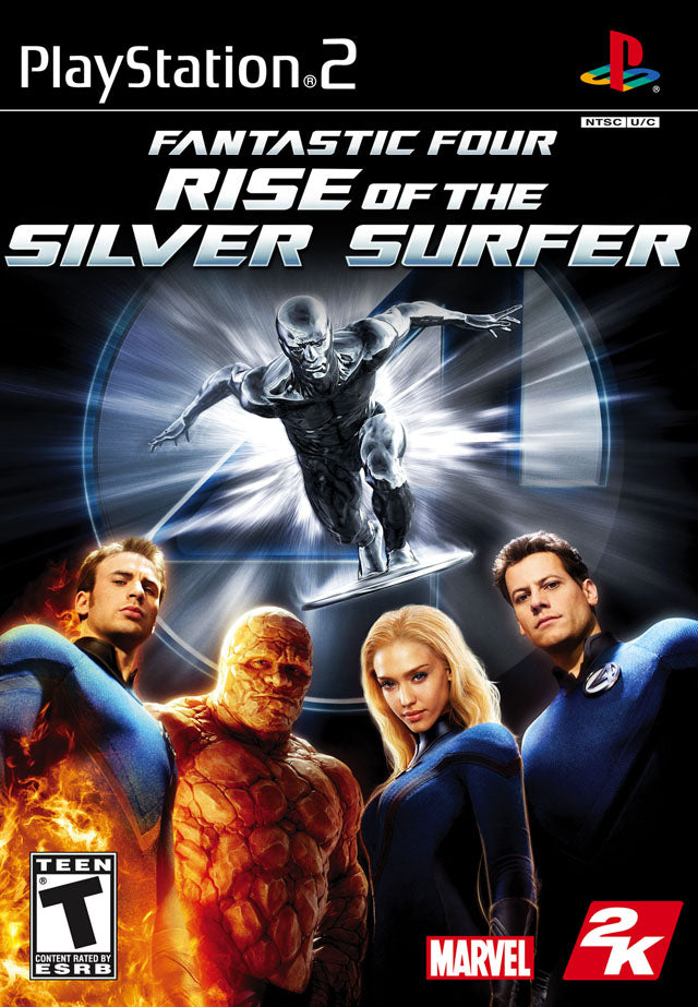 Fantastic 4 Rise of the Silver Surfer - Playstation 2 (Complete in Box)