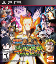 Naruto Shippuden Ultimate Ninja Storm Revolution - Playstation 3 (Complete in Box)