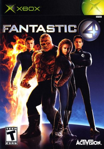 Fantastic 4 - Xbox (Complete In Box)