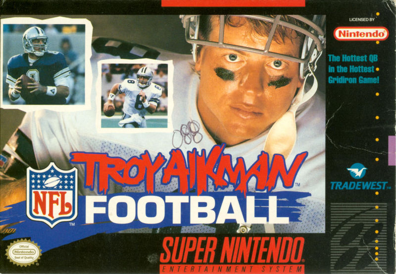 Troy Aikman NFL Football - Super Nintendo (Game Only)