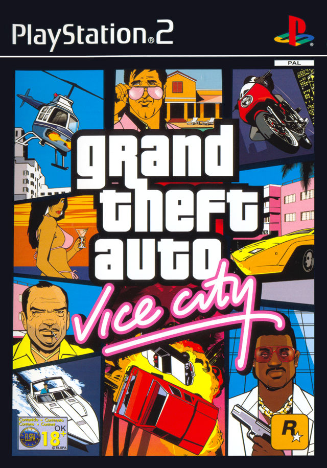 Grand Theft Auto Vice City - Playstation 2 (Complete In Box)