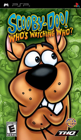Scooby-Doo Who's Watching Who? - PSP (Complete In Box)