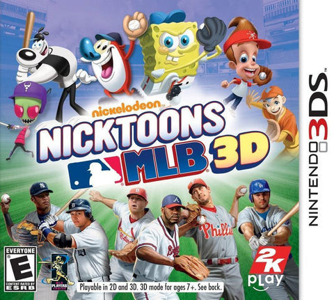 Nicktoons MLB - Nintendo DS (Game Only)