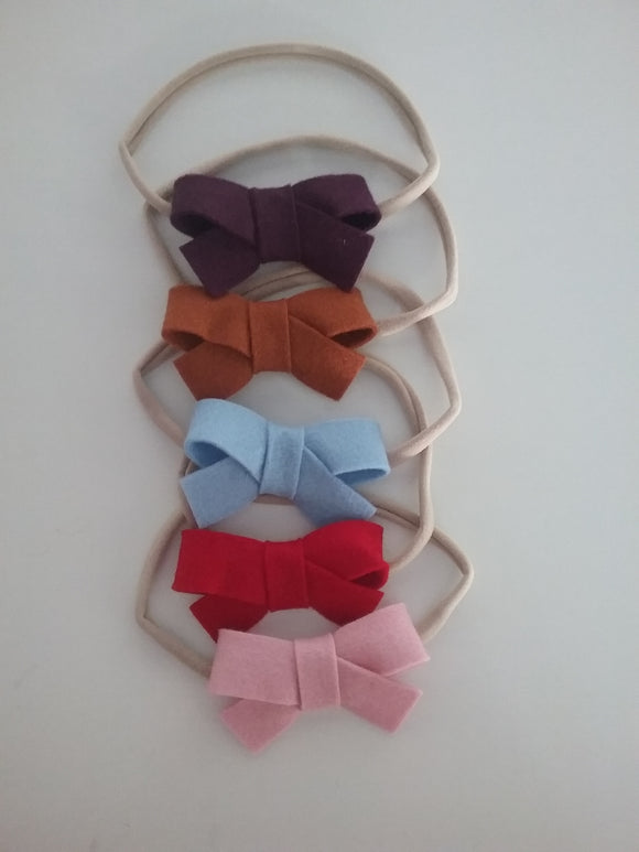 Pippa bow headband - Little ones kingdom