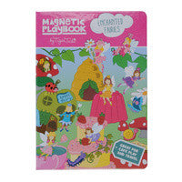 Magnetic play book-Enchanted fairies - Little ones kingdom