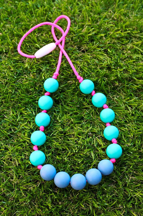 Popping colour necklace