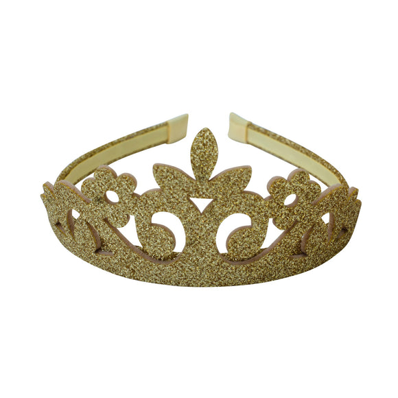 Waiting for a prince tiara gold