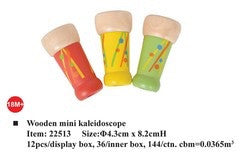 Mini wooden kaleidoscope - Little ones kingdom