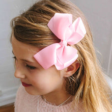 Pink Grosgrain bow