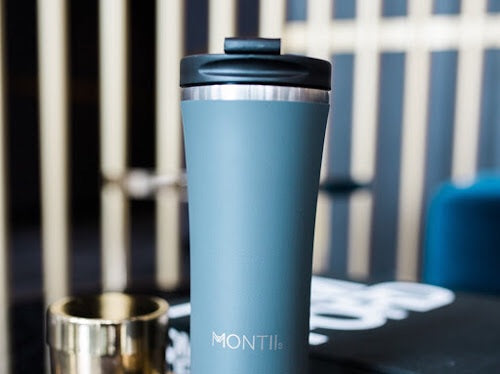 Hot Stuff Reusable Coffee Cup - Grey