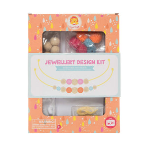 Jewellery design kit-Pom Poms and beads - Little ones kingdom