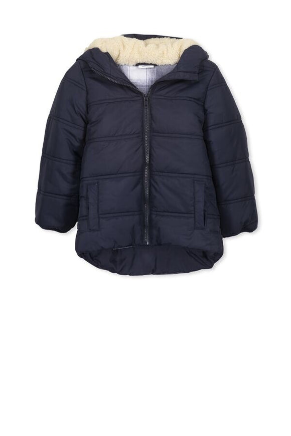 Navy puffer jacket - Little ones kingdom
