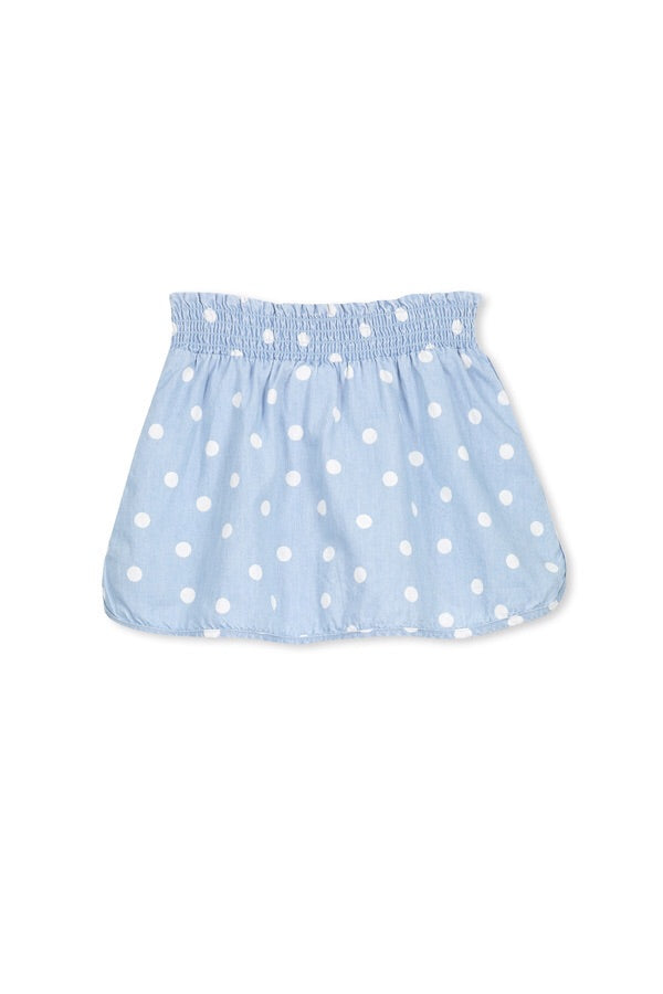 Chambray sport Girls skirt - Little ones kingdom