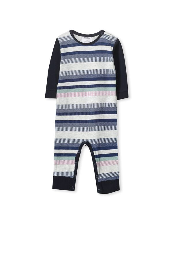 Multi stripe romper - Little ones kingdom