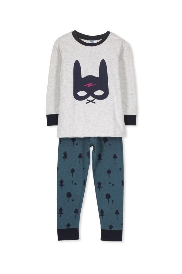 Bunny Boys pj's - Milky - Little ones kingdom