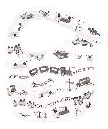 Baby Bib Locomotion - Toshi - Little ones kingdom