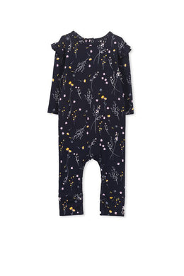 Winter floral romper - Little ones kingdom