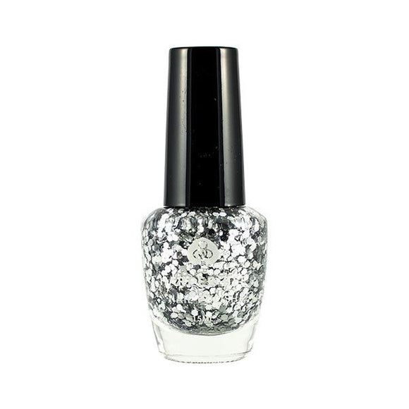 Nail polish Silver Sparkles (Bling) - Little ones kingdom