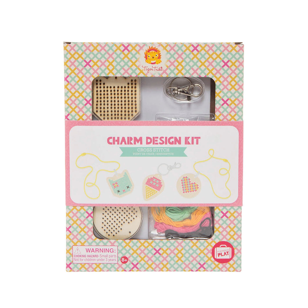 Charm design kit- Cross stitch
