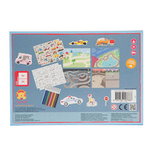 Sticker world - On the move - Little ones kingdom