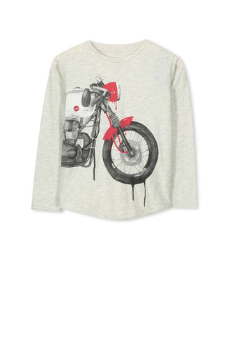 Motorbike tee - Little ones kingdom