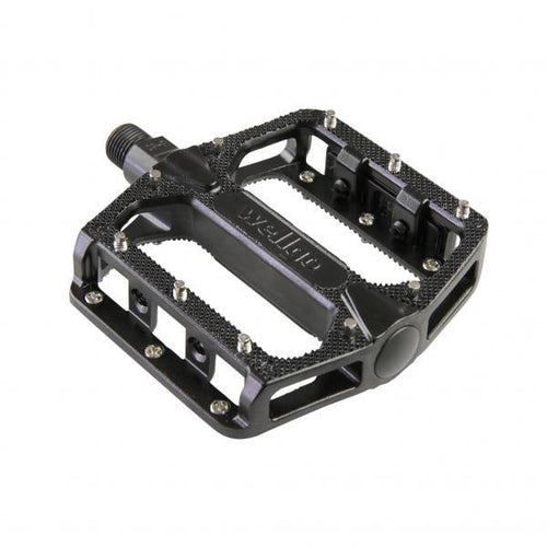 KWT Alloy MTB Platform Pedal 9/16 - REMOVABLE PINS