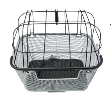 Pet Basket - Large Rear with Lid
