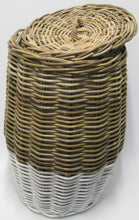 Kubu Grey Baskets with White Base