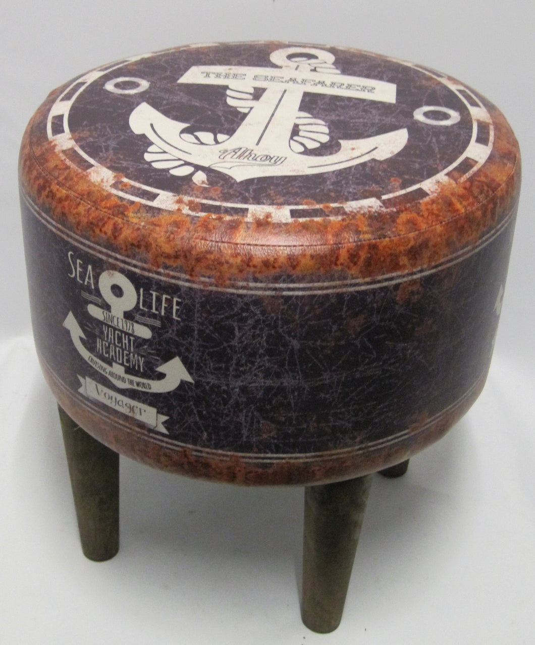 Large Patterned Stools