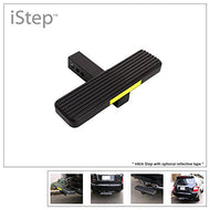 "iStep 14"" Black Aluminium Trailer Hitch Step 2"" Receiver Tube Class 3/4/5 Hitchstep Roof Rack Bumper Guard Protector"