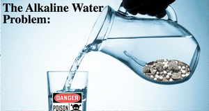 Why we should stop drinking artificial alkaline water?