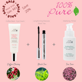 100% Pure Combo Pack: Mattifying Primer + Eye Cream + Ultra Mascara