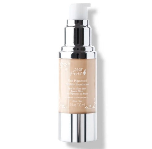 100% Pure Fruit Pigmented® Healthy Foundation (Creme) 1 fl oz 30ml