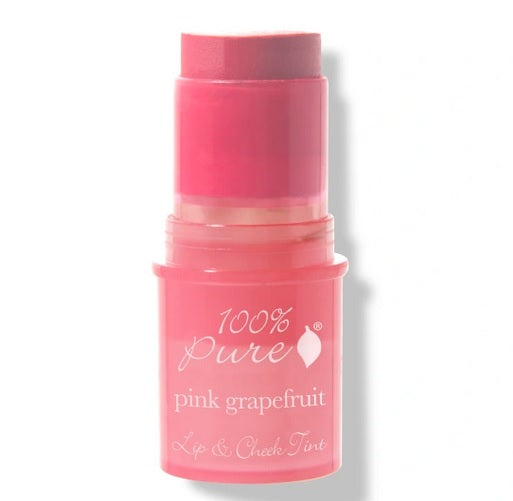 100% Pure Fruit Pigmented® Lip & Cheek Tint Pink Grape Fruit Glow
