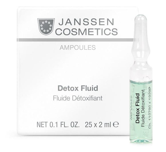 Janssen Cosmetics: DETOX FLUID 25x2mL