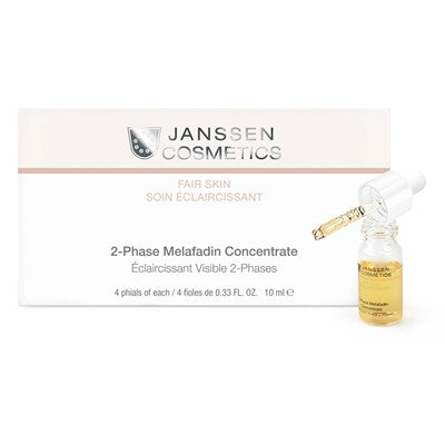 Janssen Cosmetics: 2 Phase Melafadin Concentrate 4 x 10ml 0.33oz