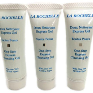 La Rochelle One Step Express Cleansing Gel 10ml x 3 Discovery Set